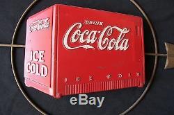 True Vintage 31 3/4 Coca-Cola Coke Cooler Arrow sign by Kay Displays