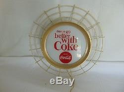 Unique Vintage Coca Cola Things Go Better with Coke Hanging Light Up Sign