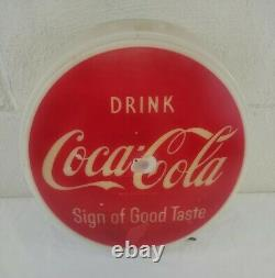 VERY Rare Vintage Coca Cola 10 Button Lighted Sign by Dualite 1950s Minor Wear