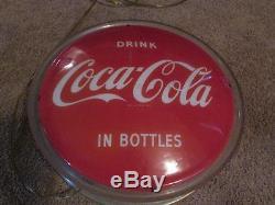 Vintage 40's-50's Coca Cola Soda Drink Sign Of Good Taste Light Up Sign Rare