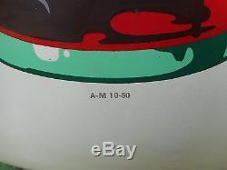 Vintage Coca Cola 24 White Porcelain Button Sign A-m 10-50
