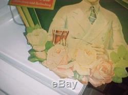 VINTAGE COCA COLA CARDBOARD SIGN LITHO 1930