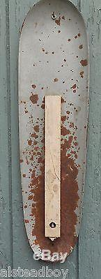 Vtg 1950's Drink Coca-cola Sign Of Good Taste Refresh Yourself Cigar Thermometer