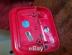 Vintage 1950's Coke Coca Cola Dispenser Tombstone with mounting hardware
