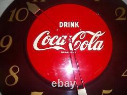 Vintage 1951 Coca cola Diner clock