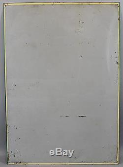 Vintage 1958 COCA-COLA Big King Size Carton Glass Bottles Tin Advertising Sign