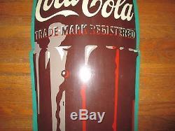 Vintage 6' Coca-cola Bottle Sign Am60