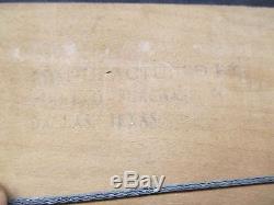 Vintage Coca Cola 1953 Cardboard Sign Original Frame Exc. Condition NO RESERVE