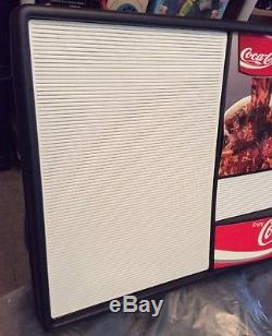 Vintage Coca Cola 4ft MENU BOARD Letter Display 4' Advertising Sign Coke Soda 92