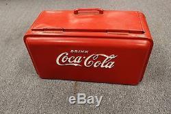 Vintage Coca Cola HALF JUNIOR COOLER NO RESERVE