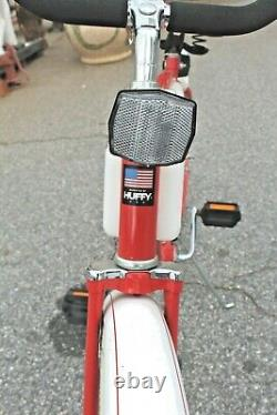 Vintage Coca-Cola Huffy Bicycle 1980's Promotional Bike Made in the USA