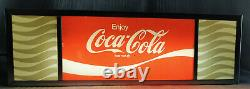 Vintage Coca Cola Light Up Sign Soda Fountain Machine Light or Counter Top