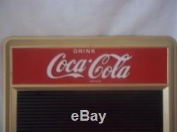 Vintage Coca-Cola Menu Board Sign! Withletters & numbers set