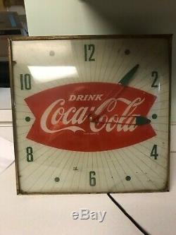 Vintage Coca-Cola PAM Clock Works Diner