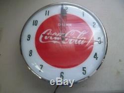 Vintage Coca Cola Pam Clock