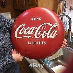 Vintage Coca Cola Sign 50s
