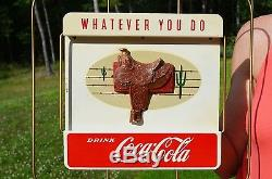 Vintage Coca Cola What Ever You 5 Piece Display Set Unfindable Scarce N Mint
