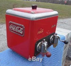 Vintage Coca-cola Coke Rochester Dual Head Soda Fountain Jerk Dispenser