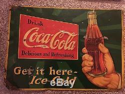Vintage Coke Signs