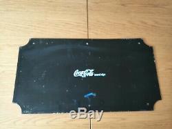 Vintage Drink Coca Cola Enamel Sign Very Good Condition