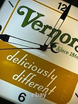 Vintage Neon Products Incorporated Vernors Clock Soda FREE SHIPPING