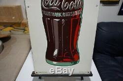 Vintage Original 1947 Coca-cola Bottles Sign