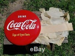 Vintage Original NOS 12 Coca Cola Soda Button Sign
