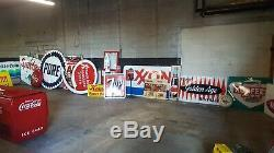 Vintage Signs. Coke Machines. Candy Machines. Gas pumps. Buy the lot. Save big$