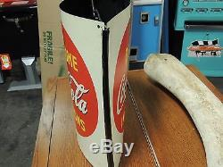 Vintage Take Home Coca-Cola in Cartons Hanging String Holder Very Unique L@@K